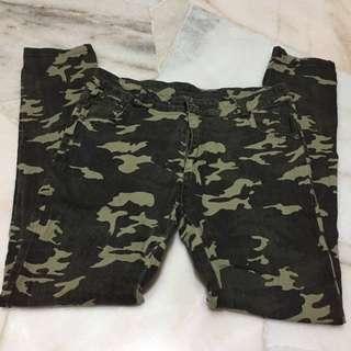 Army design pants (seluar design askar)