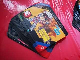 Q版聖鬥士星矢Part2白咭卡一套36張全齊