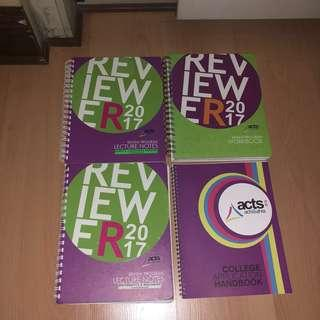 ACTS College Entrance Test Reviewer (Lecture Notes + Workbook + College Application Handbook)