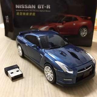 🚚 今日1/16免運🤩GTR跑車造型無線滑鼠 超質感