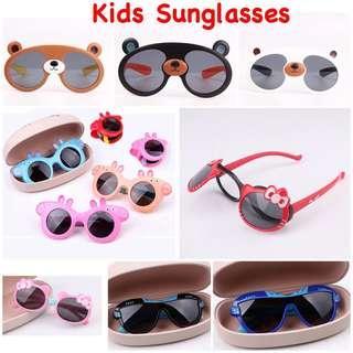 [Ready Stock] Kids Sunglasses/ Children Sunglasses/ Peppa Pig/ Hello Kitty/ Bear/ with UV protection