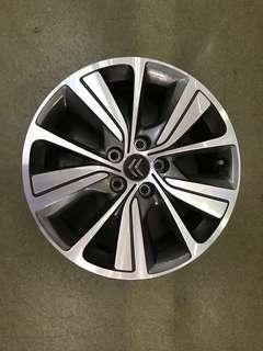 "17"" 5x108 citroen original wheel"