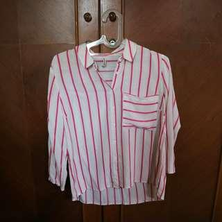 Stradivarius Stripe Shirt