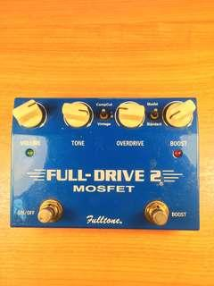 FULL DRIVE 2 Mosfet by Fulltone