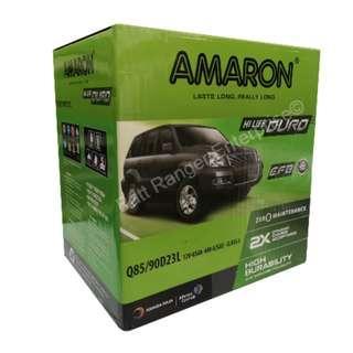 Amaron Hilife Duro Q85 (90D23L) EFB Start Stop Battery Mazda Skyactiv Toyota Harrier XU60 Wish