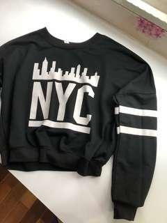 Black NYC Top / Sweater