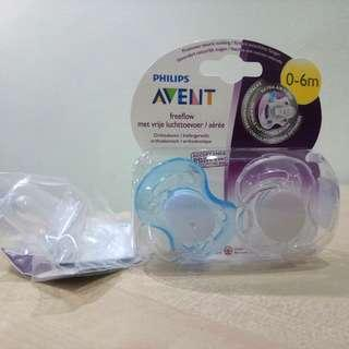 FREE POS NEW Philips Avent Pacifier Free Flow