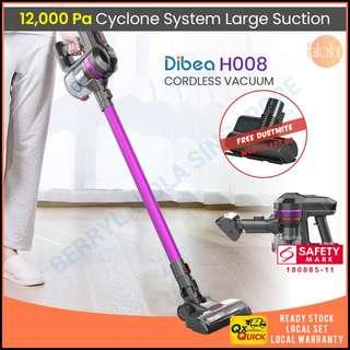 ✔FREE DELIVERY ✔FREE DUSTMITE :DIBEA H008 Cordless Vacuum Cleaner + FREE Dustmite Brush worth $49.9