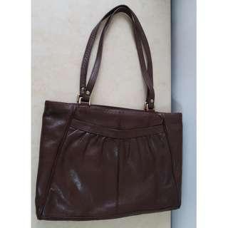 實用女裝袋 皮袋 揹袋 手袋 handbag 少用  90% new
