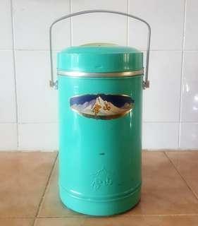 antique food flask