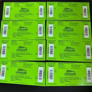 HORIZON FAST FERRY $36 only FOR INDONESIAN PASSPORT ONLY
