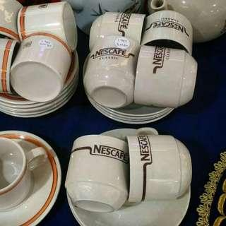 Vintage Nescafe coffee cup