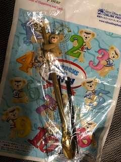 日本海洋迪士尼 達菲 攪拌棒/小湯匙
