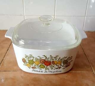 corningware spice of life sol casserole bowl 3l
