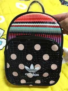 (Last one)Adidas backbag pu leather