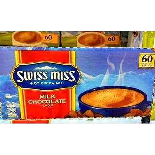 🚚 SWISS MISS即溶可可粉(牛奶巧克力) 28公克×60入-吉兒好市多COSTCO代購