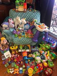 Huge Lot Baby/Toddler Toys