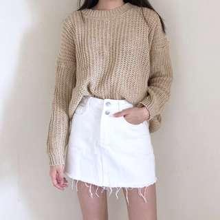 Beige sweater #PRECNY60