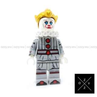 Lego Compatible Minifigures : Pennywise