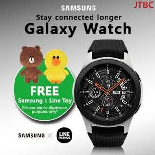 [Samsung Electronics]SAMSUNG Galaxy Watch 46mm | CLEARANCE | 1 YEAR LOCAL SAMSUNG WARRANTY | READY STOCKS