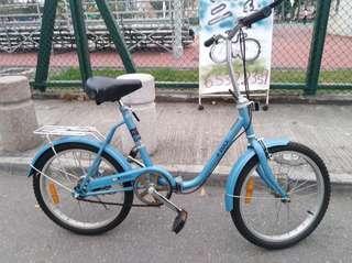 20吋 K-Rock 淑女單車 摺合單車