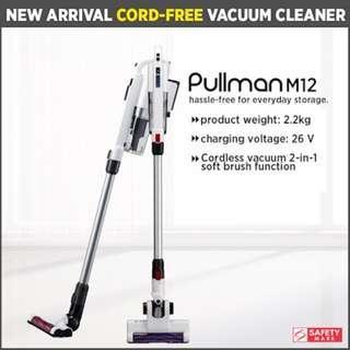[PULLMAN]PULLMAN M12 Cordless Vacuum Cleaner Handheld Stick | Safety Mark