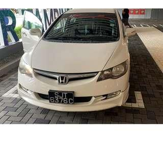 Honda Civic 1.8 White