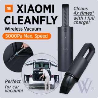 Xiaomi Cleanfly Car Dust Cleaner Wireless Portable Vacuum Hand-Helded Car Dust Cleaner
