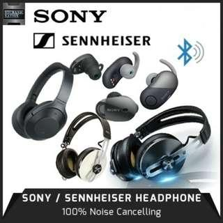 NEW YEAR 2019 Promo! NEW SONY WH-1000XM3 - Industry Leading Noise Cancellation / Up To 30 Hrs of Battery Life / Wireless Freedom / SENSE Engine. 12 Months Warranty! Best Price Guaranteed Free Delivery