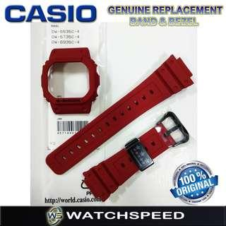 🚚 DW-5635C-4/DW-5735C-4 Original Replacement Band and Bezel for Casio G-Shock