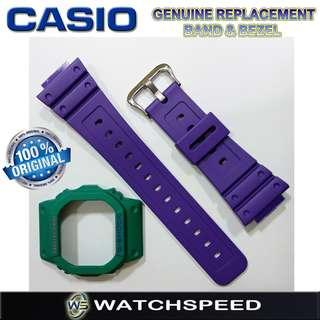 🚚 DW-5600TB-6/DW5600TB-6 Original Replacement Band and Bezel for Casio G-Shock