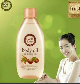 🚚 韓國HAPPY BATH 天然美體油