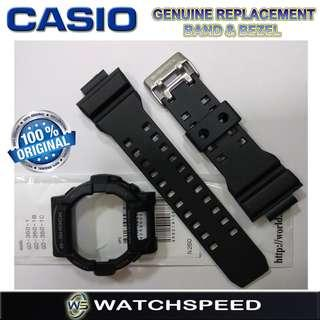 🚚 GD-350-1/GD350-1B/GD350-1C Original Replacement Band and Bezel for Casio G-Shock