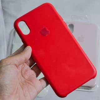 IPHONE X SILICONE CASE (PRODUCT RED)