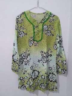 Green Women Blouse