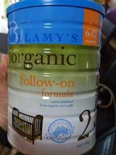 Bellamy's Organic followup formula 2 (6-12m)