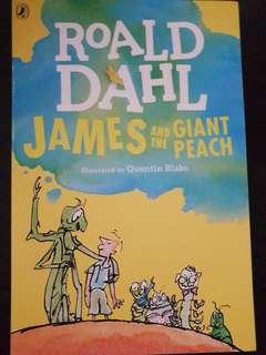 James and the Giant Peach, By Roald Dahl