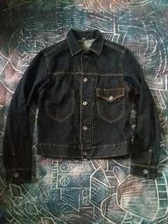 Uniqlo single pocket denim Jacket