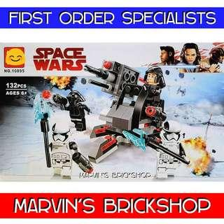 BELA 10895 STAR WARS First Order Specialists Battle Pack