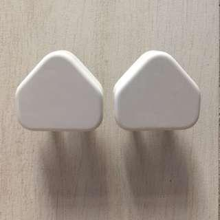 2x Apple 5W USB Power Adapter / charging charger