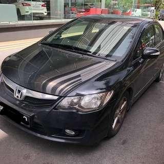 🇸🇬🇸🇬🇸🇬🇸🇬🇸🇬 Honda civic fd  1.8 AT Padleshift 2009 5.8k