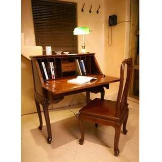 花梨書柜/ 梳妝檯+ 花梨椅