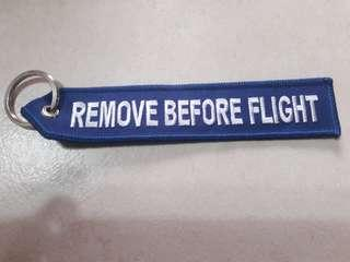 Airbus remove before flight keychain