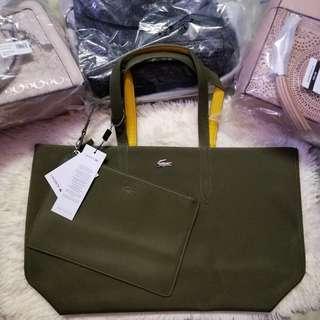 Authentic Lacoste Reversible Bag