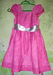 Dres anak warna pink