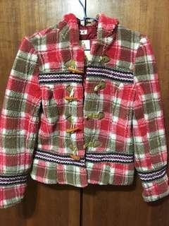 毛外套150公分(女童也能穿)150公分#居家大掃除