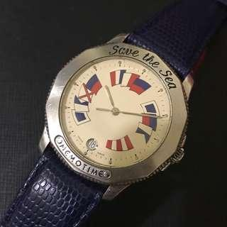 Vintage Corum Memotime Save The Sea Watch