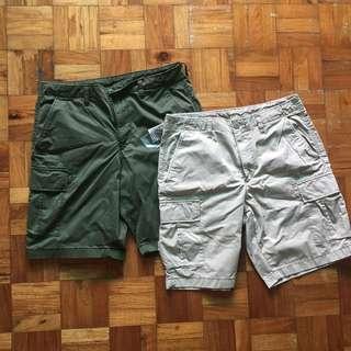 New! Beige Uniqlo cargo pants