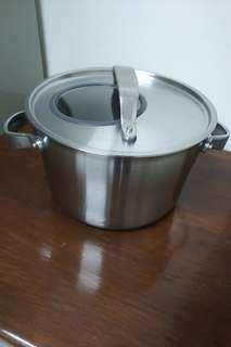IKEA Stainless Steel Stockpot with Cover 4.5L