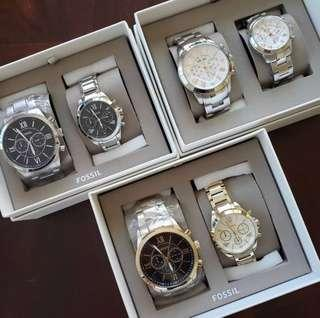 FOSSIL Couple Watch Set